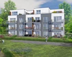4-Zimmer-Wohnung mit eigenem Gartenanteil