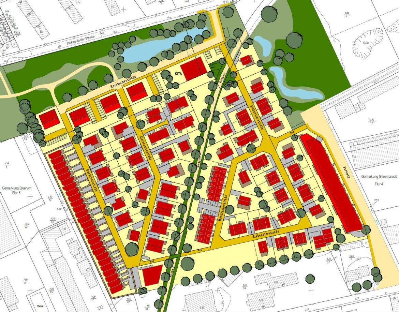 Lageplan Bauprojekte